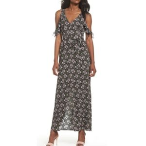 PAIGE --  Lystra Cold Shoulder Maxi Dress, S